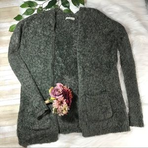 Abercrombie & Fitch Dark Sage Mohair Sweater XS/S